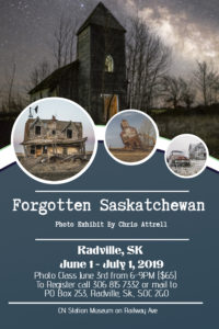Forgotten Saskatchewan @ CN Station